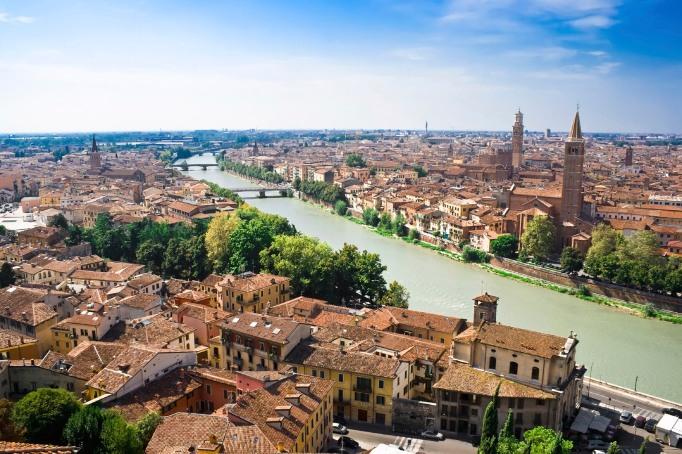Verona and Adige River